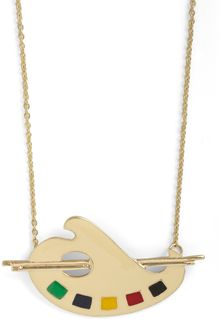 ModCloth Palette It Shine Necklace - Lyst