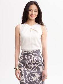 Banana Republic Twisted Keyhole Shell - Lyst