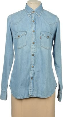 Levi's Denim Shirt - Lyst