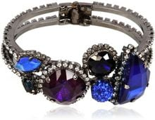 Erickson Beamon Purple and Blue Crystal Bracelet - Lyst