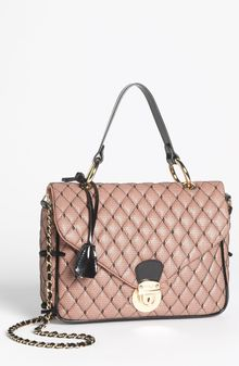 RED Valentino Quilted Nappa Leather Satchel - Lyst