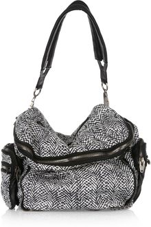Alexander Wang Jane Printed Leather Shoulder Bag - Lyst