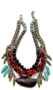 Dannijo Filbert Necklace - Lyst