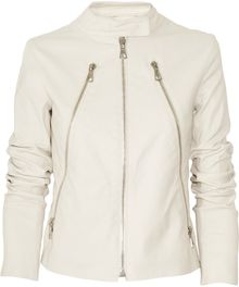 Maison Martin Margiela Leather Jacket - Lyst