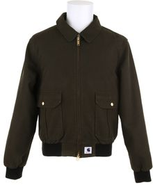 Adam Kimmel X Carhartt Bomber Jacket in Cotton Canvas - Lyst