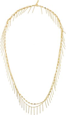 Isabel Marant Good Swung Doublestrand Goldtone Necklace - Lyst