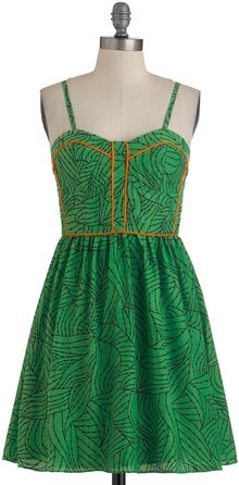 ModCloth No Leaf Unturned Dress - Lyst