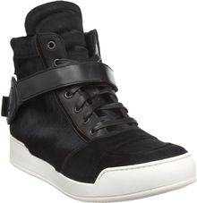 Balmain Ponyhair High Top - Lyst