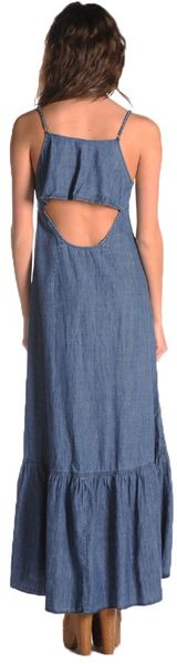 Free People Buttondown Maxi - Lyst