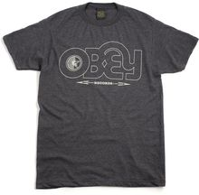 Obey Obey Voices Record Tshirt - Lyst