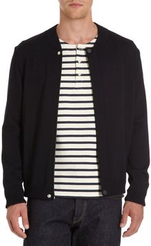 Saint James Baseball Collar Jacket - Lyst
