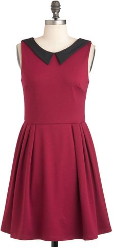 ModCloth Life Imitates Heart Dress - Lyst