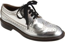Marni Metallic Oxford - Lyst