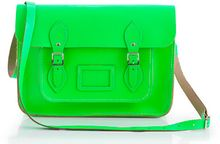 J.Crew The Cambridge Satchel Company Fluorescent Satchel - Lyst
