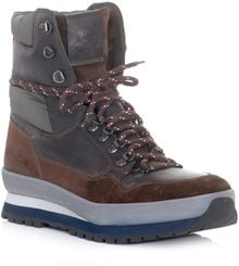 Moncler Hiking Boots - Lyst