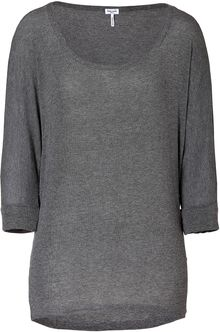 Splendid Steel Heather 34 Dolman Sleeve Tshirt - Lyst