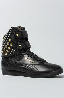 Reebok The Alicia Keys X Reebok Dubble Bubble Studded Sneaker in Black - Lyst