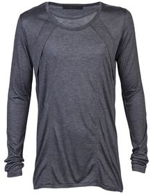 Julius Double Neck Tshirt - Lyst