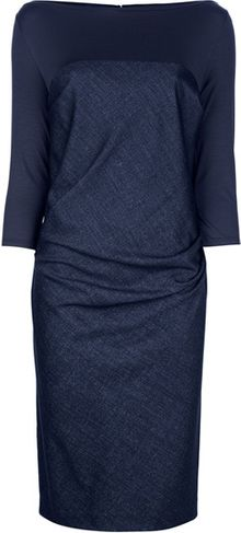 Max Mara Asymmetric Dress - Lyst