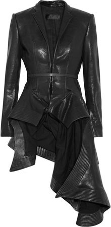 Haider Ackermann Origami Leather Jacket - Lyst