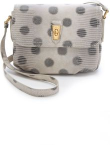 Marc By Marc Jacobs Embossed Lizzie Dots Cross Body Bag - Lyst