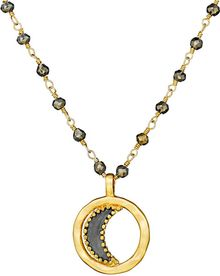Satya Jewelry Moon Necklace in Luminosity - Lyst