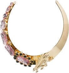 Asos Dinosaur Collar Necklace - Lyst