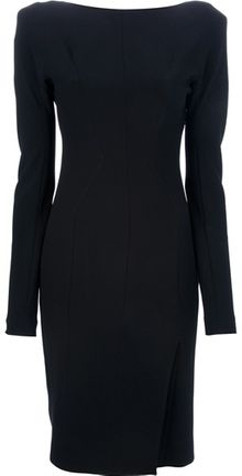 Tom Ford Draped Back Dress - Lyst