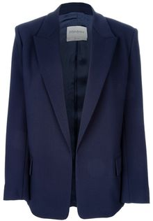 Saint Laurent Open Blazer Jacket - Lyst