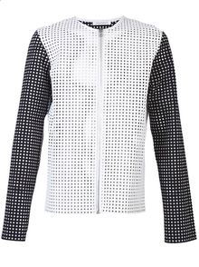 J.W. Anderson Perforated Jacket - Lyst