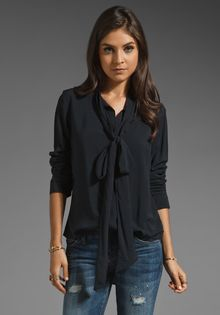 G-star Raw Cl Scarf Blouse - Lyst
