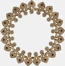 Topshop Multi Heart Collar Necklace - Lyst