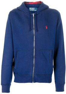 Polo Ralph Lauren Hooded Sweatshirt - Lyst