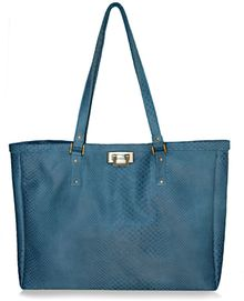 Julie K Handbags Jacqui in Matte Teal Boa - Lyst