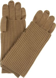 Acne Courtney Convertible Wool Gloves - Lyst