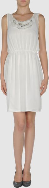 Eryn Brinie Short Dress - Lyst