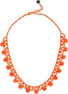 Tom Binns Neo Neon Handpainted Rhodium Necklace - Lyst