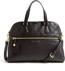 Marc By Marc Jacobs Globe Trotter Calamity Rei Leather Shoulder Bag - Lyst