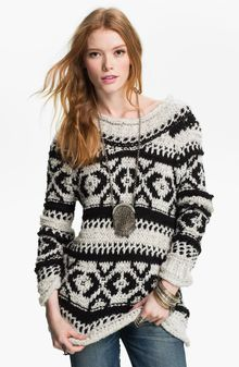 Free People Chunky Alpine Sweater - Lyst