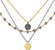 Satya Jewelry Triple Strand Necklace in Great Heights - Lyst