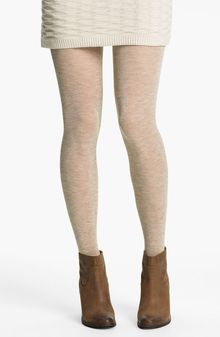 Free People Heathered Sweater Tights - Lyst