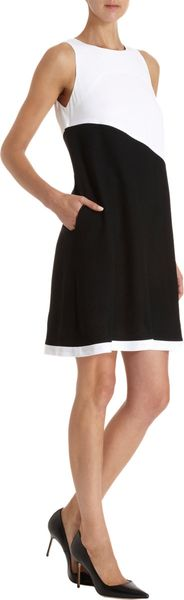 Lisa Perry Sleeveless Shift Dress - Lyst
