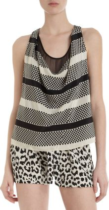 Thakoon Addition Blouson Romper - Lyst