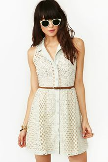 Nasty Gal Bubbly Lace Dress - Lyst
