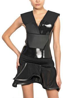 Mugler Punto Milano and Neoprene Top - Lyst