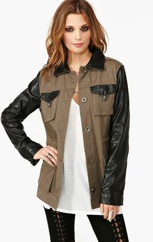 Nasty Gal Dark Allies Jacket - Lyst