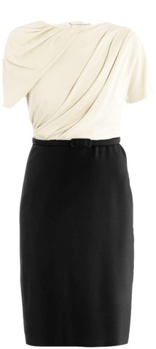 Maxmara Pianoforte Draped Bodice Dress - Lyst