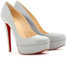 Christian Louboutin Bianca 140 Patent Leather Platform Pumps - Lyst
