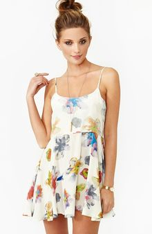 Nasty Gal Cannes Floral Dress - Lyst