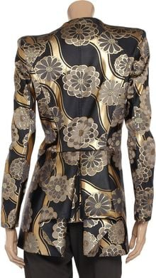 Zac Posen Brocade Jacket - Lyst